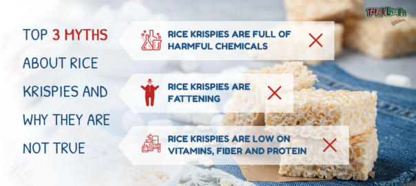 top 3 myths about rice krispies and why they are not true